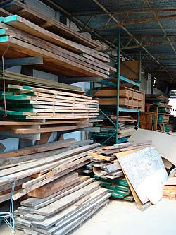deposito de maderas