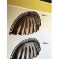 Tirador Metalico Concha