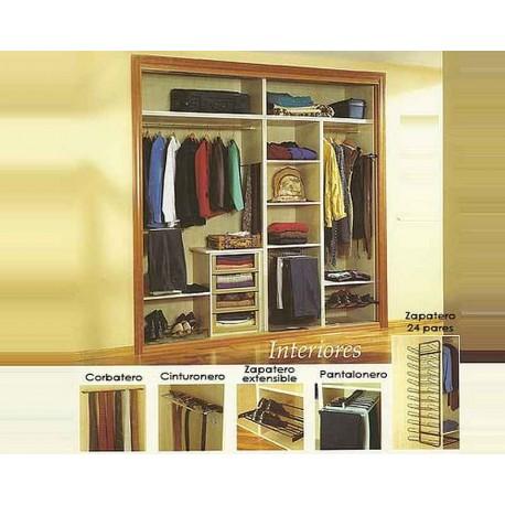 Zapateros interior armario armario zapatero armario for Interior armario zapatero