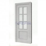 Puerta lacada Mod 100 6v