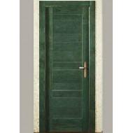 Puerta Madera Maciza Mod. 691 ciega verde
